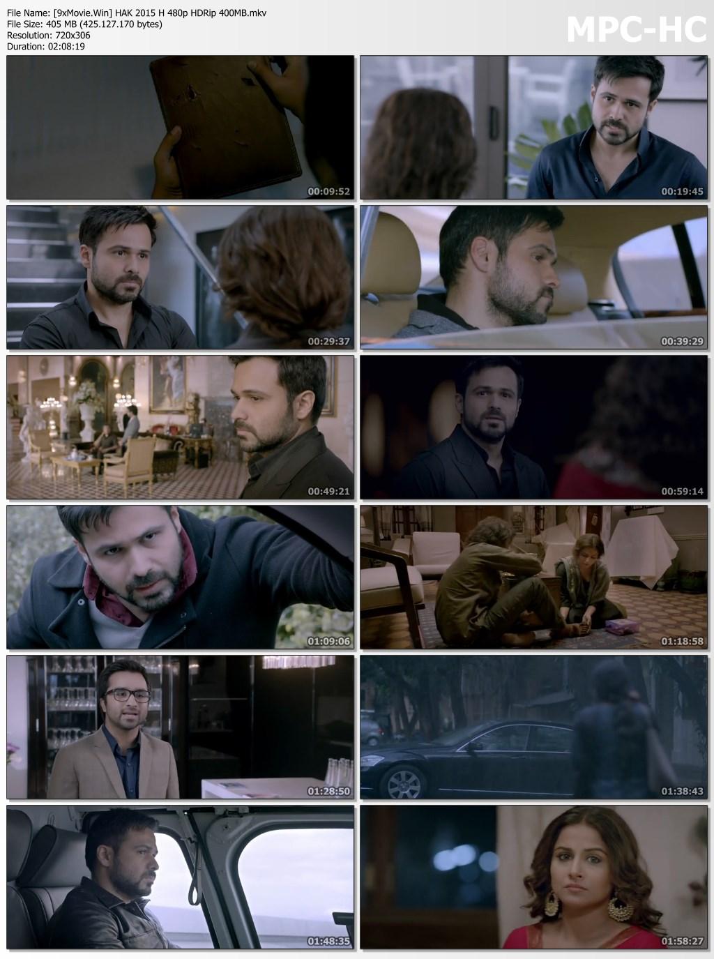 Hamari Adhuri Kahani 2015 Bollywood Movie 480p HDRip x264 400MB