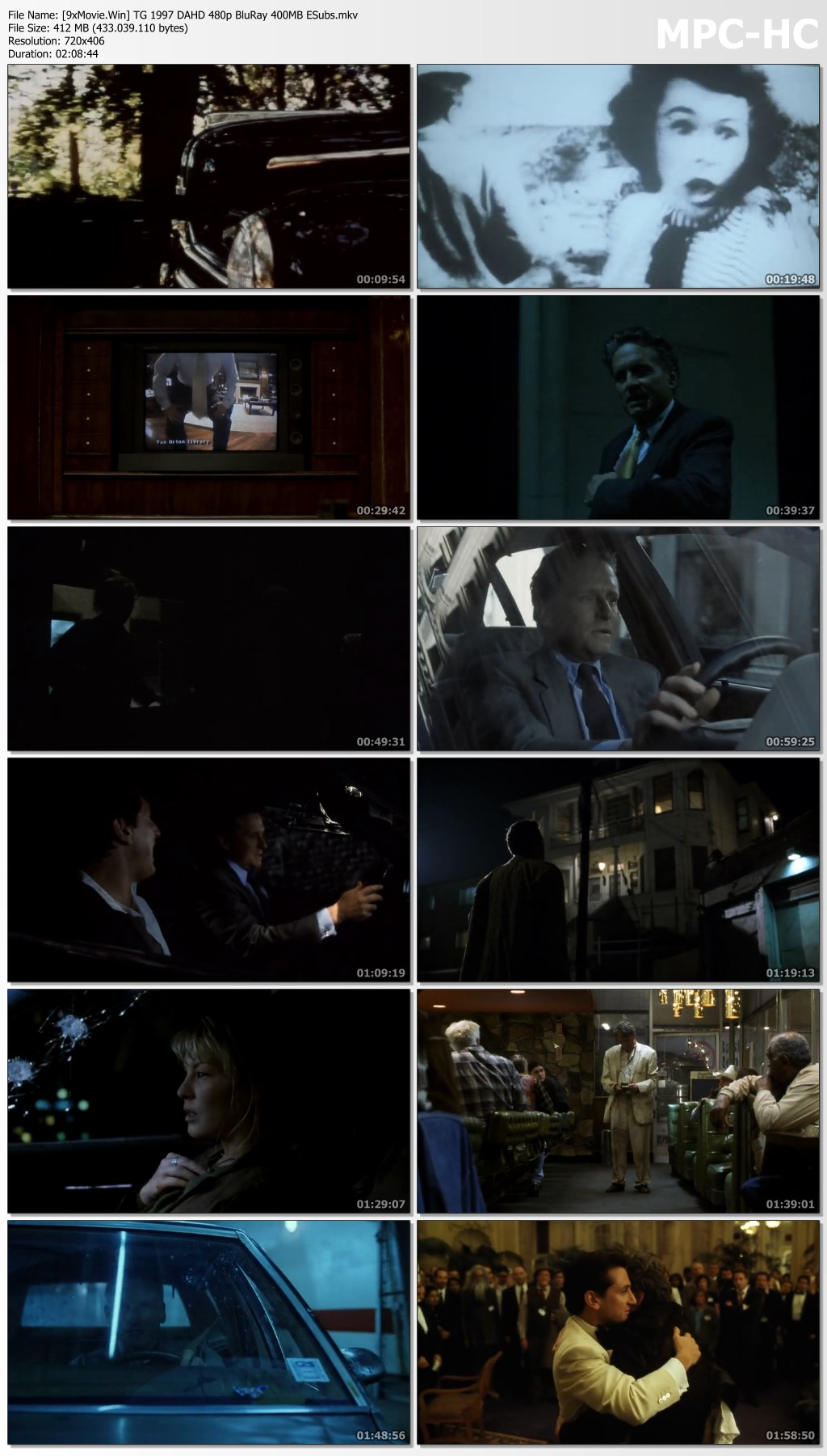 The Game 1997 Hollywood Movie Hindi Dubbed 480p BluRay x264 400MB ESubs
