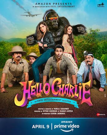 Hello Charlie 2021 Hindi 480p HDRip 300mb