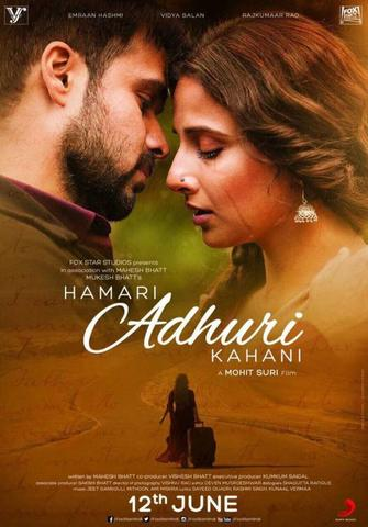 Hamari Adhuri Kahani 2015 Bollywood Movie 480p HDRip x264 400MB