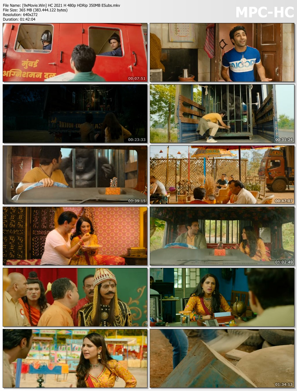 Hello Charlie 2021 Bollywood Movie 480p HDRip x264 350MB ESubs