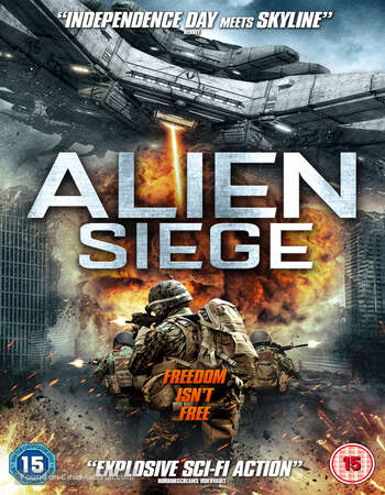 Alien Siege 2018 Hindi Dual Audio 720p BluRay ESubs