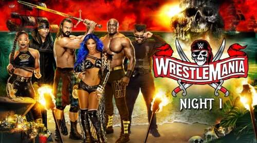 WWE WrestleMania 37 10th April 2021 Night 01 720p 900MB PPV WEBRip 480p