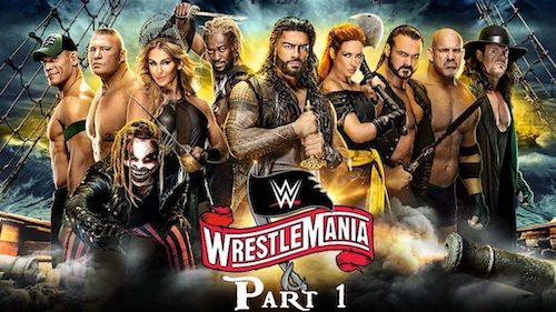 WWE WrestleMania 37 2021 Night 01 PPV WEBRip 720p 480p x264 900MB