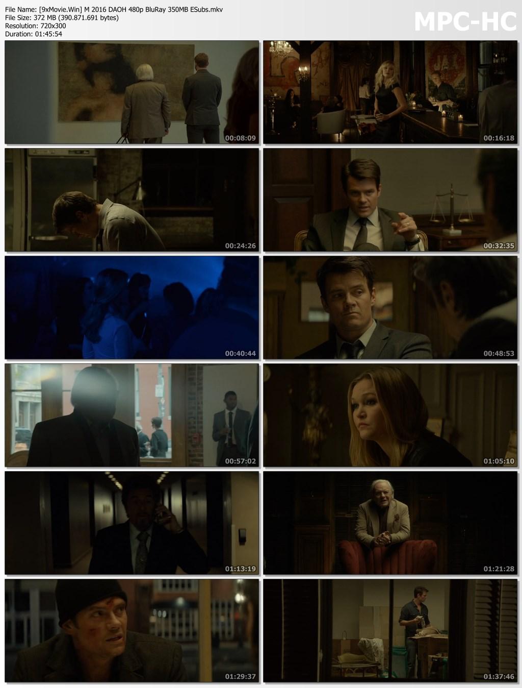 Misconduct 2016 Hollywood Movie Hindi ORG 480p BluRay x264 350MB ESubs
