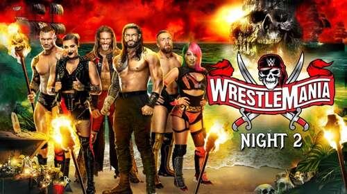 WWE WrestleMania 37 11th April 2021 Night 02 720p 850MB PPV WEBRip 480p