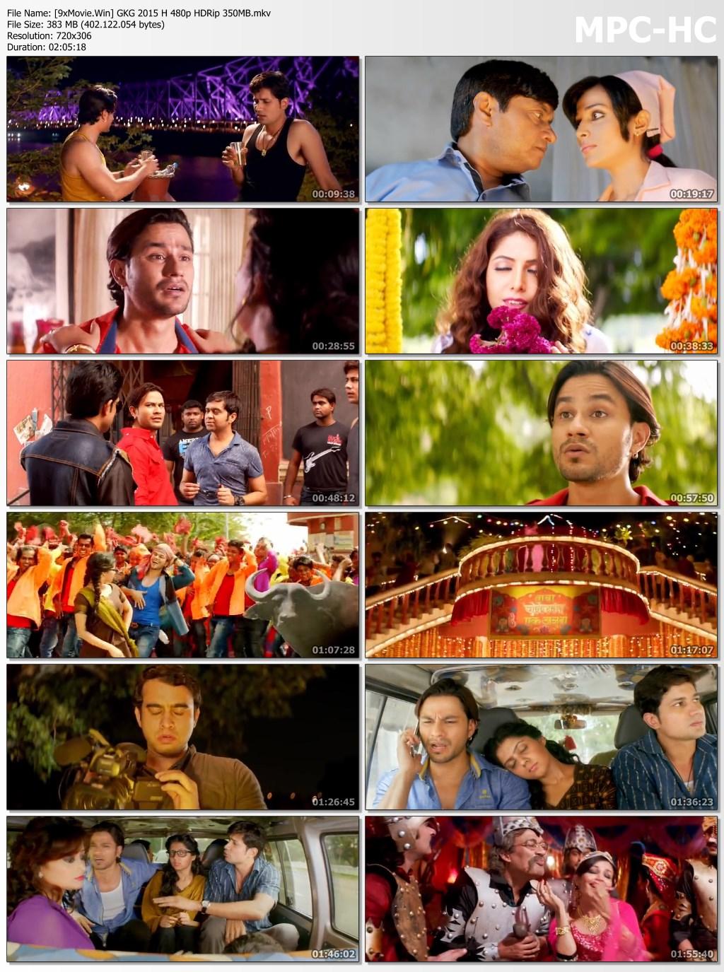 Guddu Ki Gun 2015 Bollywood Movie 480p HDRip x264 350MB
