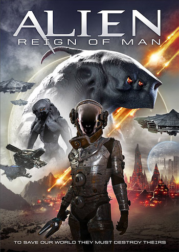 Alien Reign of Man 2017 Dual Audio Hindi 480p WEBRip 280MB
