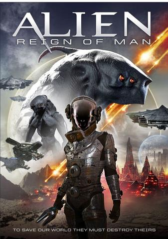 Alien Reign of Man 2017 Hollywood Movie Hindi 480p WEB-DL x264 300MB ESubs