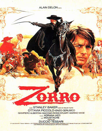 Zorro 1975 Hindi Dual Audio 350MB BluRay 480p ESubs