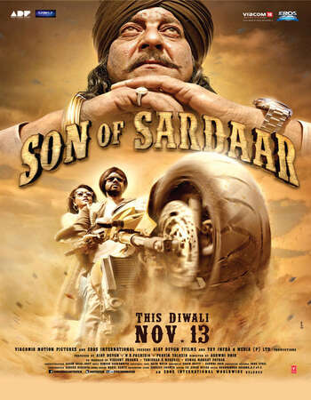 Son of Sardaar 2012 Hindi 400MB HDRip 480p ESubs