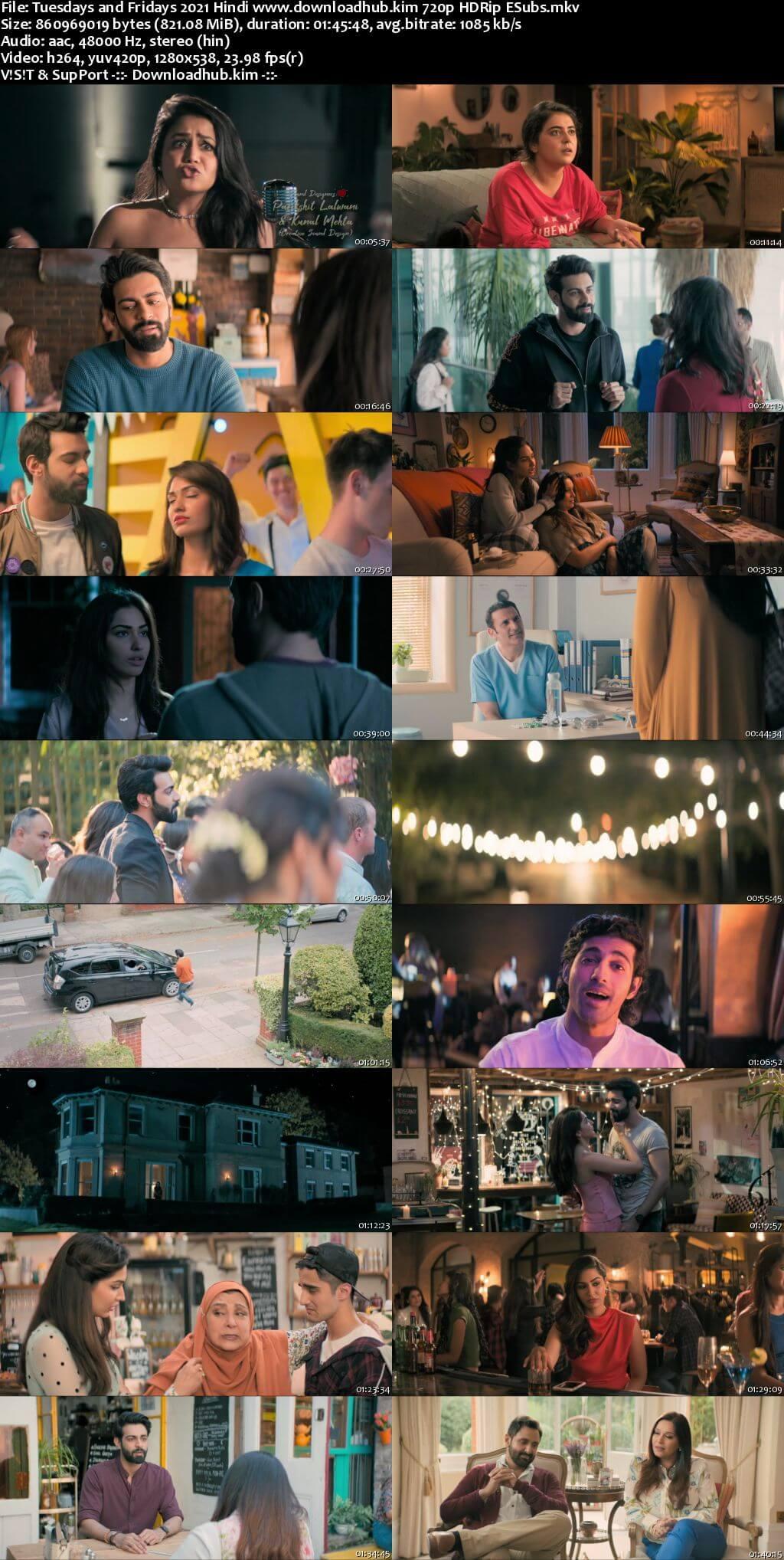 Tuesdays and Fridays 2021 Hindi 720p HDRip ESubs