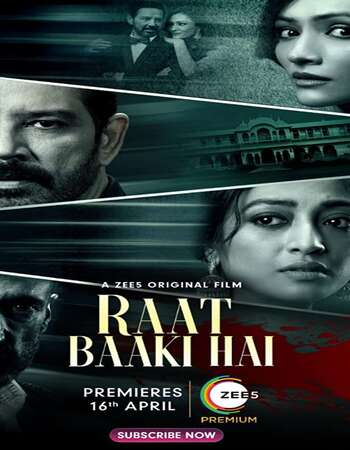 Raat Baaki Hai 2021 Hindi 450MB HDRip 720p ESubs HEVC