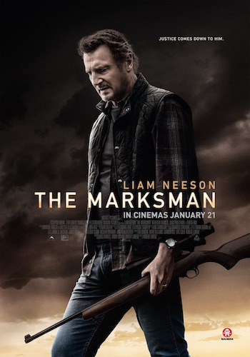 The Marksman 2021 Dual Audio Hindi 480p WEBRip 300mb