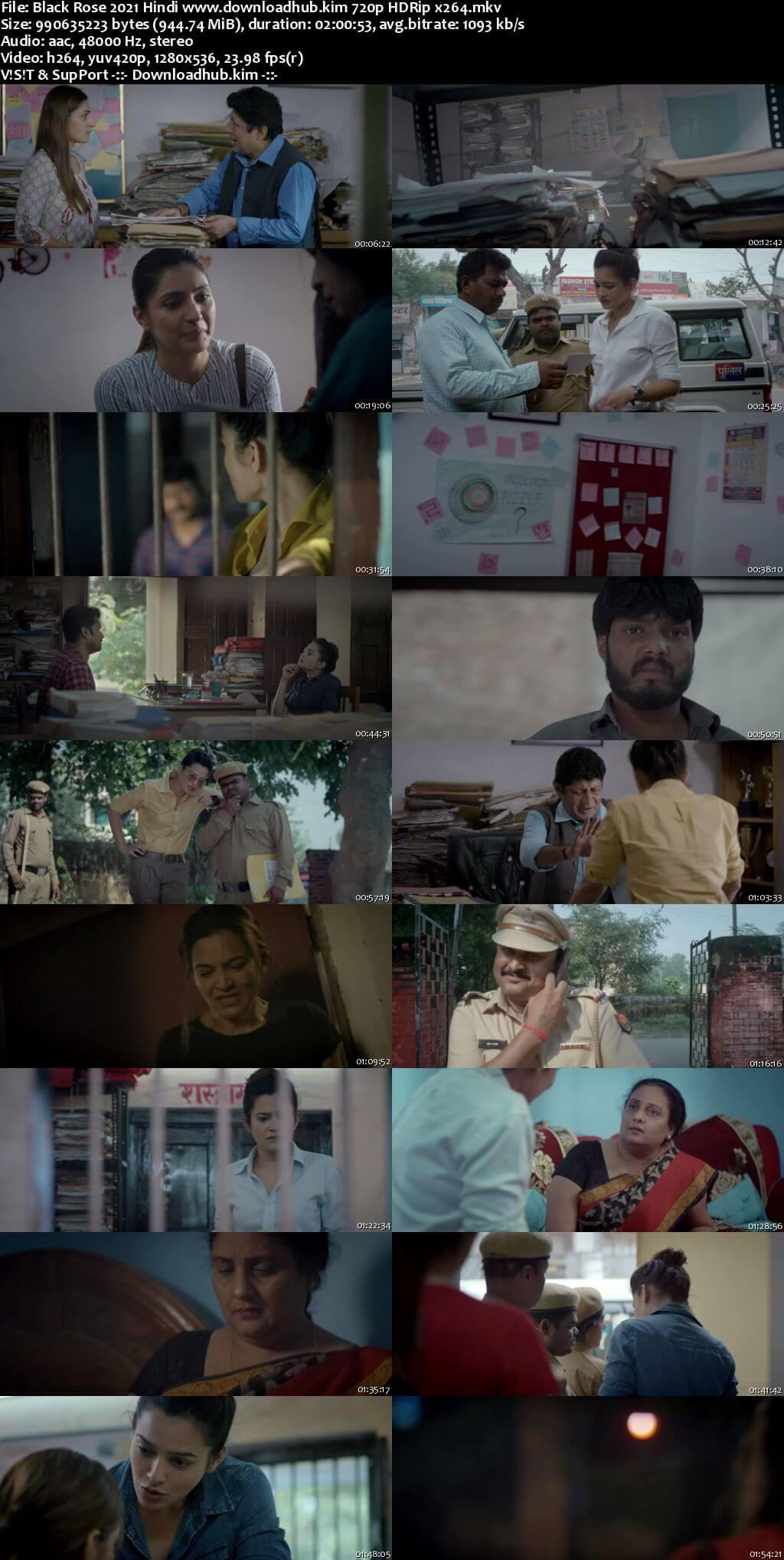Black Rose 2021 Hindi 720p HDRip x264