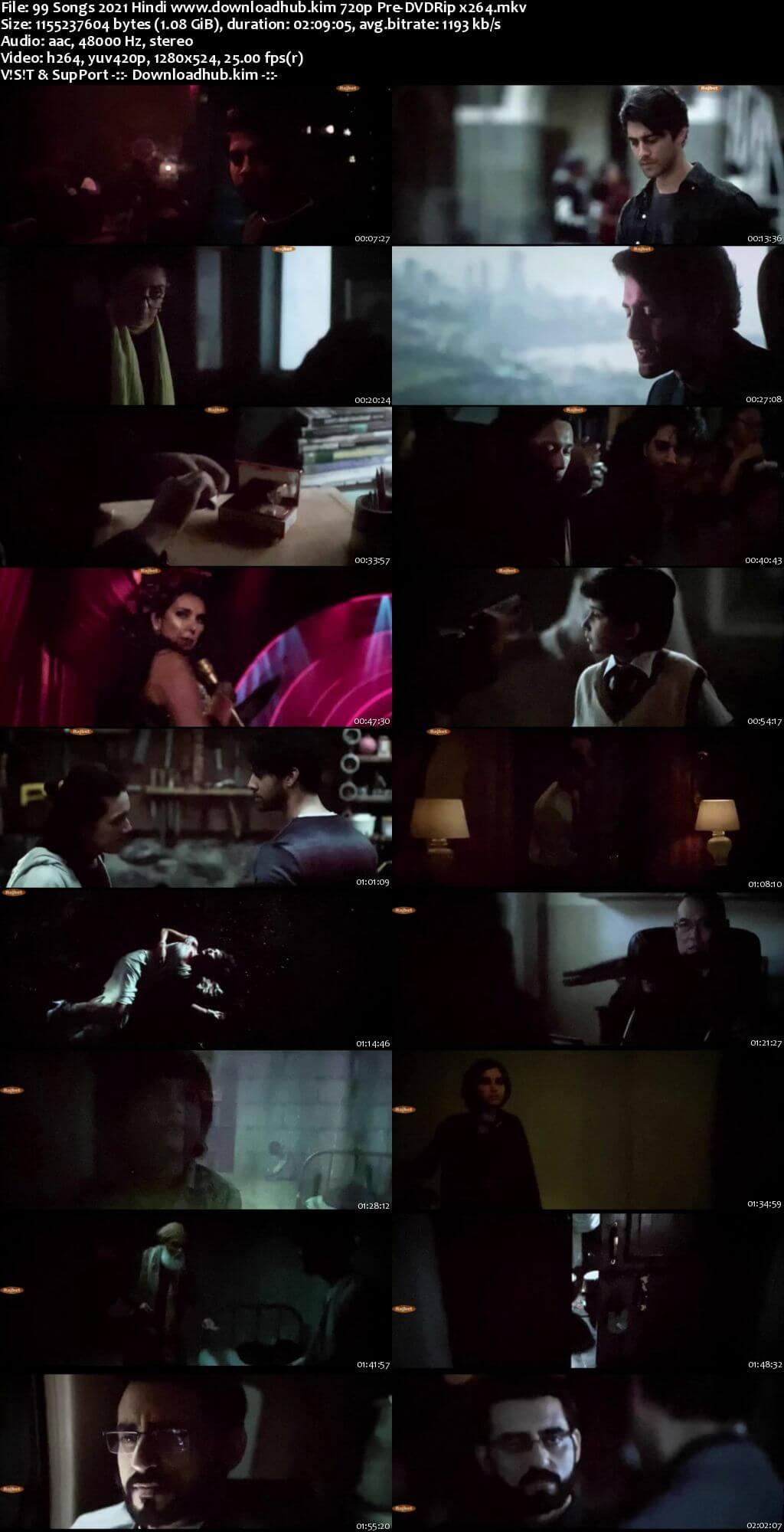 99 Songs 2021 Hindi 720p 480p Pre-DVDRip x264