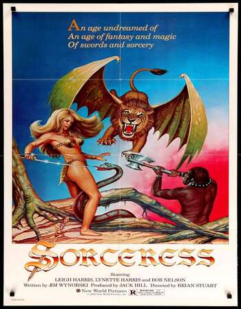 Sorceress 1982 Hindi Dual Audio 280MB UNRATED BluRay 480p ESubs