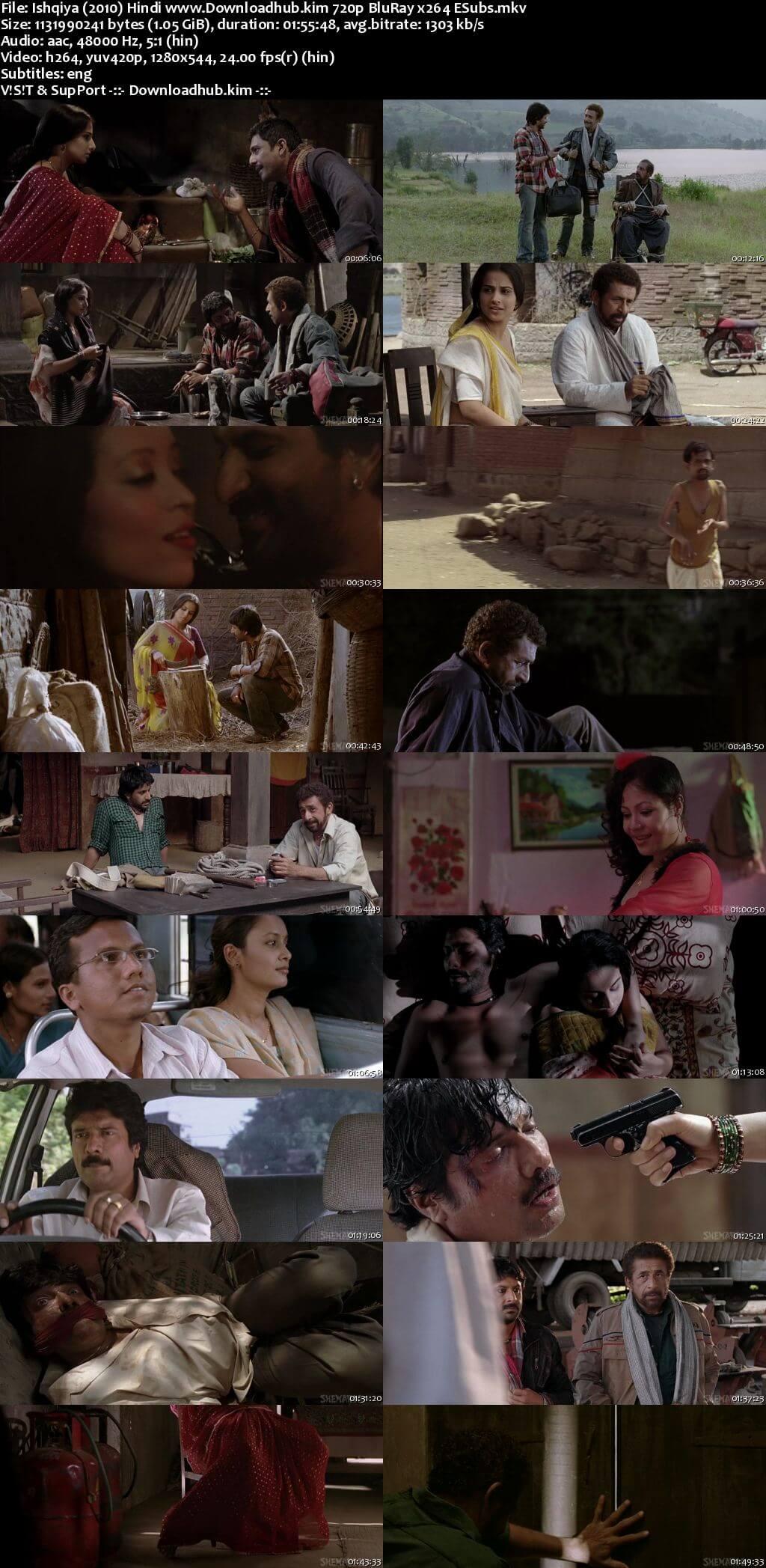 Ishqiya 2010 Hindi 720p BluRay ESubs