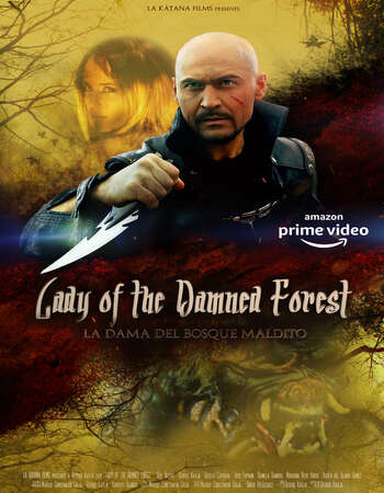 Lady of the Damned Forest 2017 Hindi Dual Audio 720p Web-DL ESubs