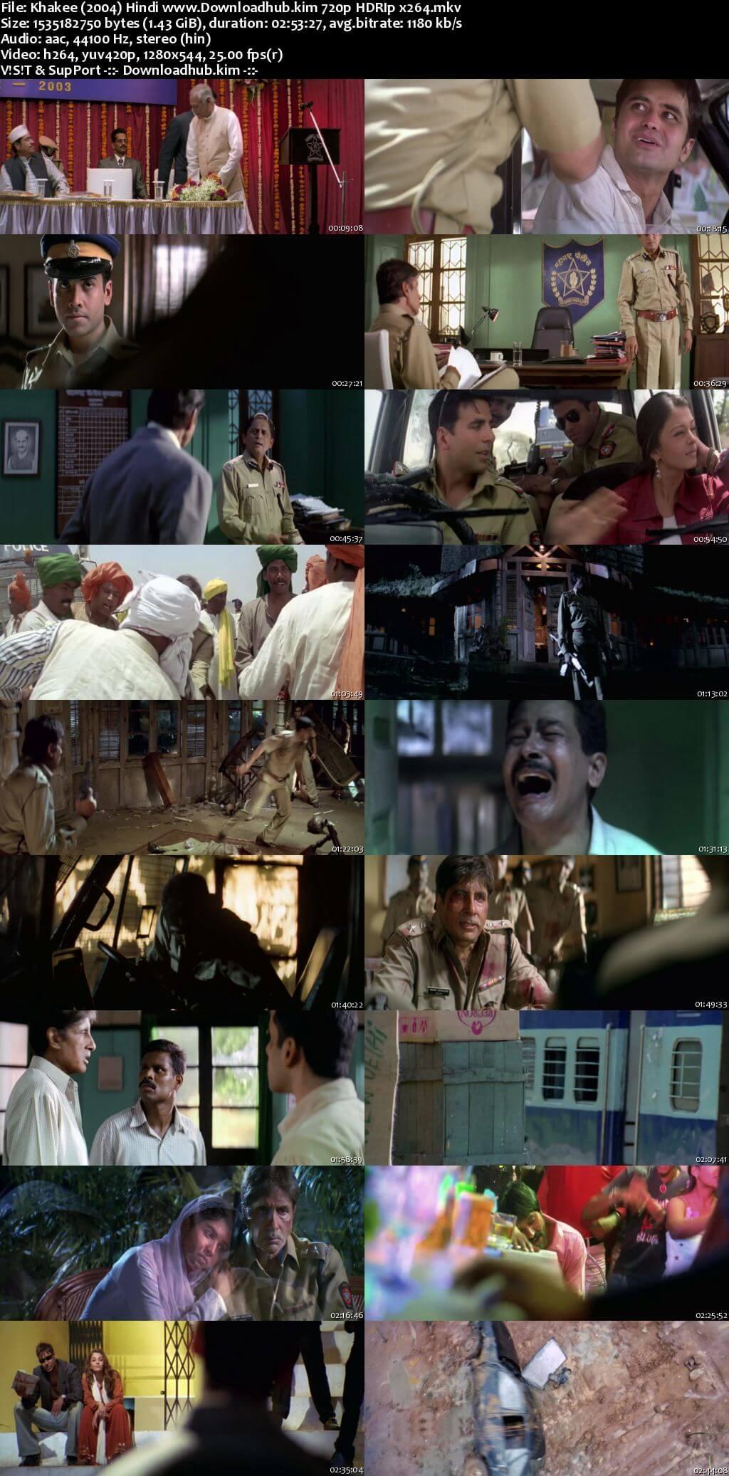 Khakee 2004 Hindi 720p HDRip x264