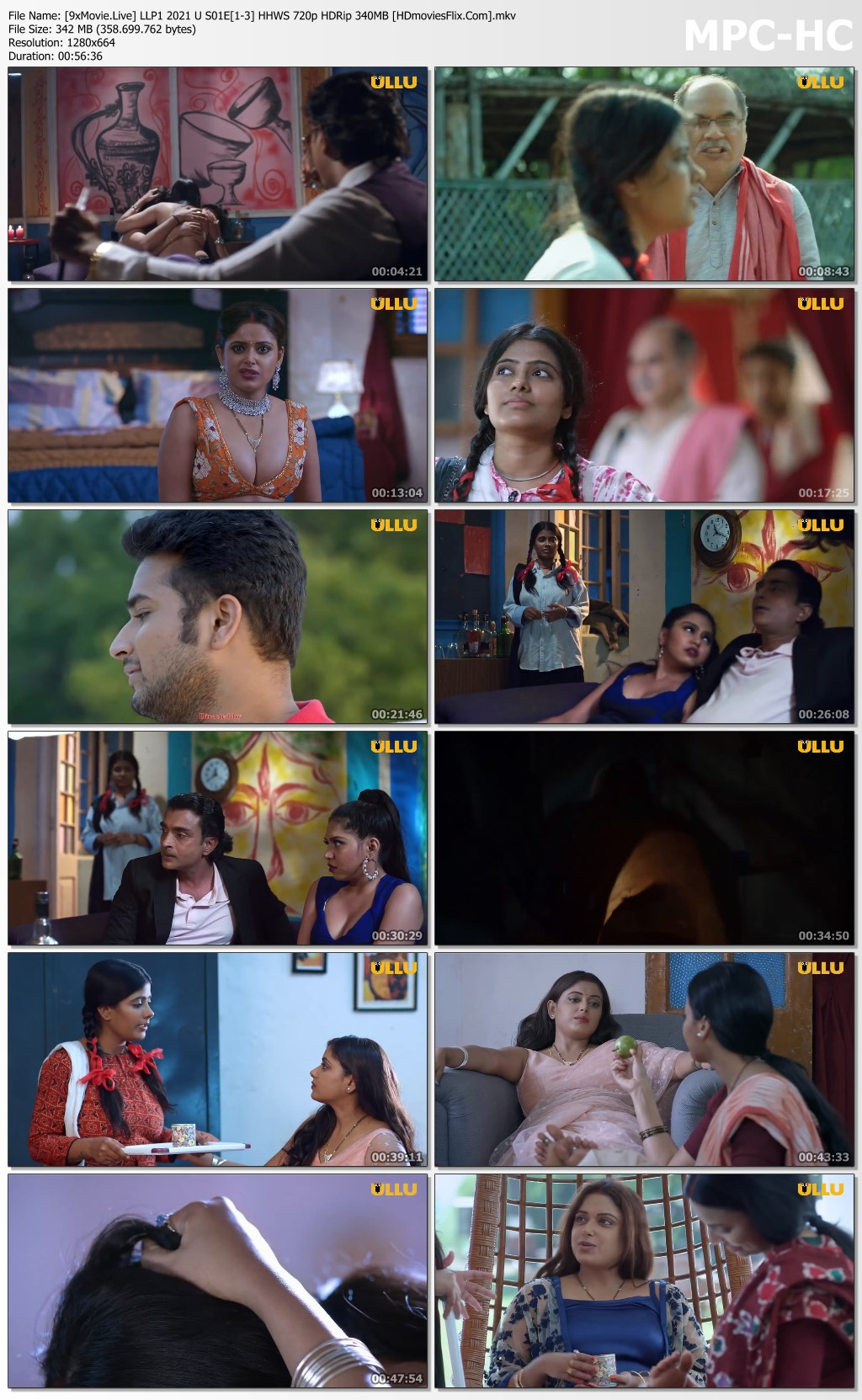 Laal Lihaaf Part 1 2021 Ullu S01 Hot Web Series 720p HDRip x264 340MB