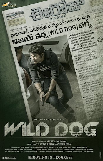 Wild Dog 2021 Telugu 720p WEB-DL 950MB ESubs