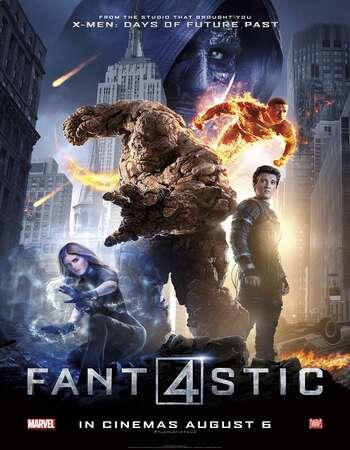 Fantastic Four 2015 Hindi Dual Audio BRRip Full Movie Download