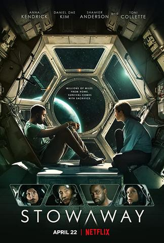 Stowaway 2021 Netflix Dual Audio Hindi 480p WEB-DL x264 400MB ESubs