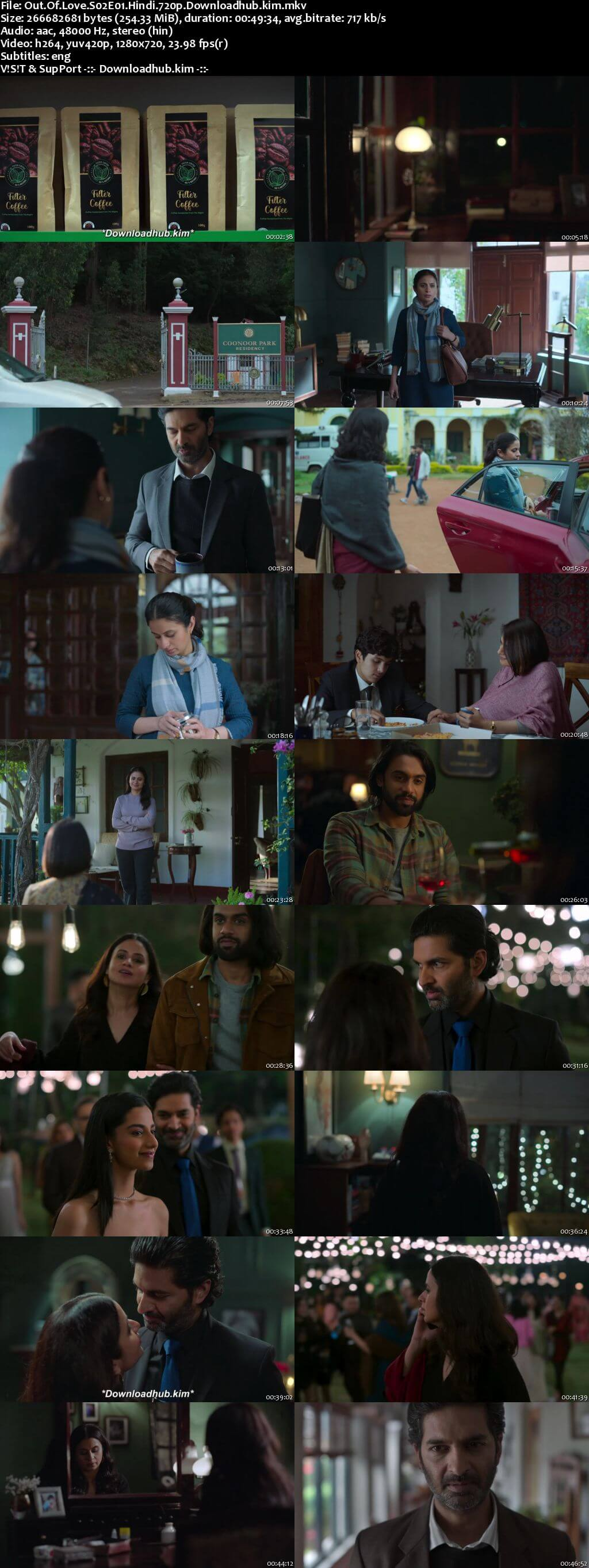 Out of love 2021 Hindi Season 02 Complete 720p HDRip ESubs