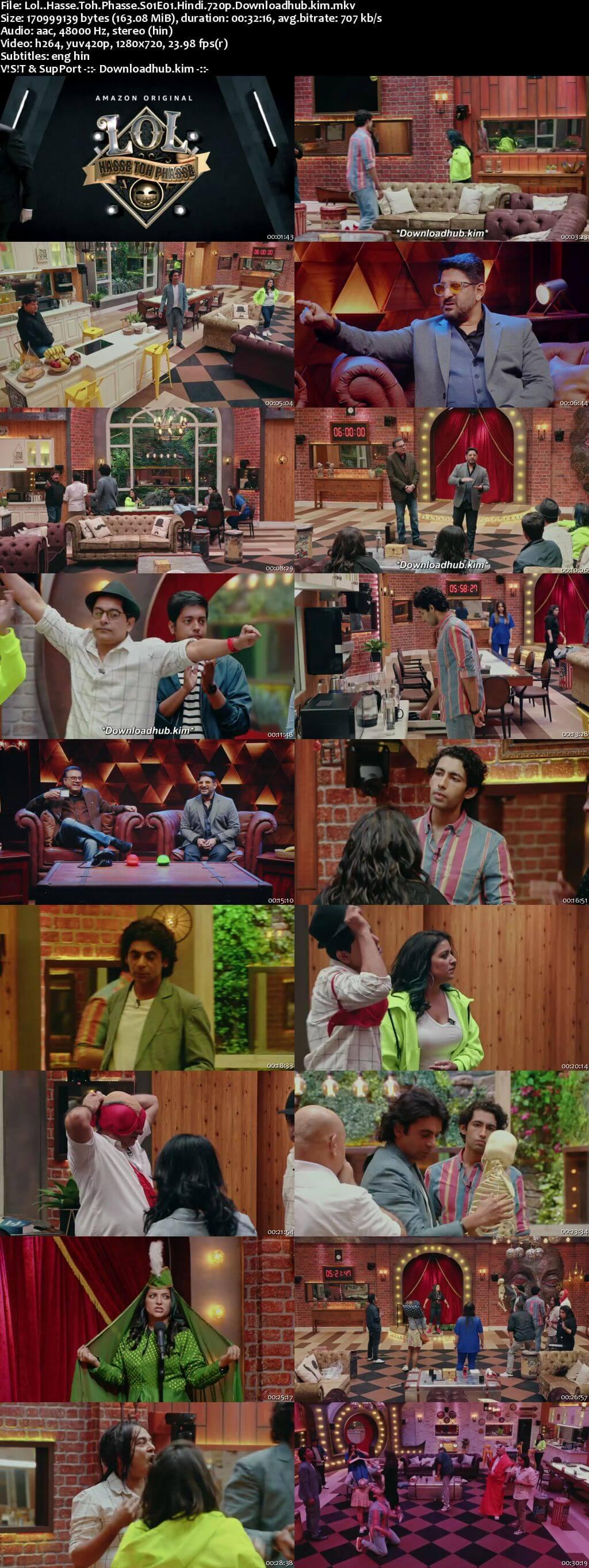 LOL Hasse Toh Phasse 2021 Hindi Season 01 Complete 720p HDRip ESubs