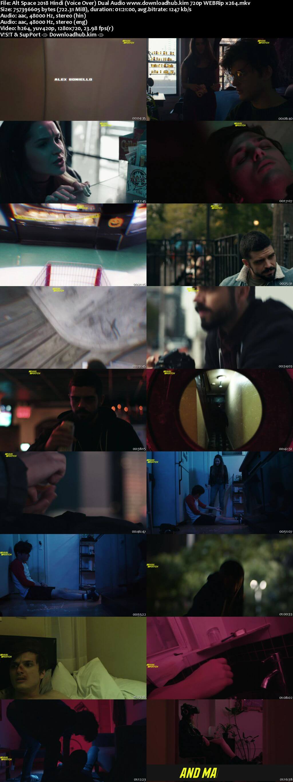 Alt Space 2018 Hindi (Voice Over) Dual Audio 720p WEBRip x264