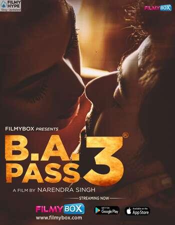 B.A. Pass 3 2021 Hindi 720p HDRip x264