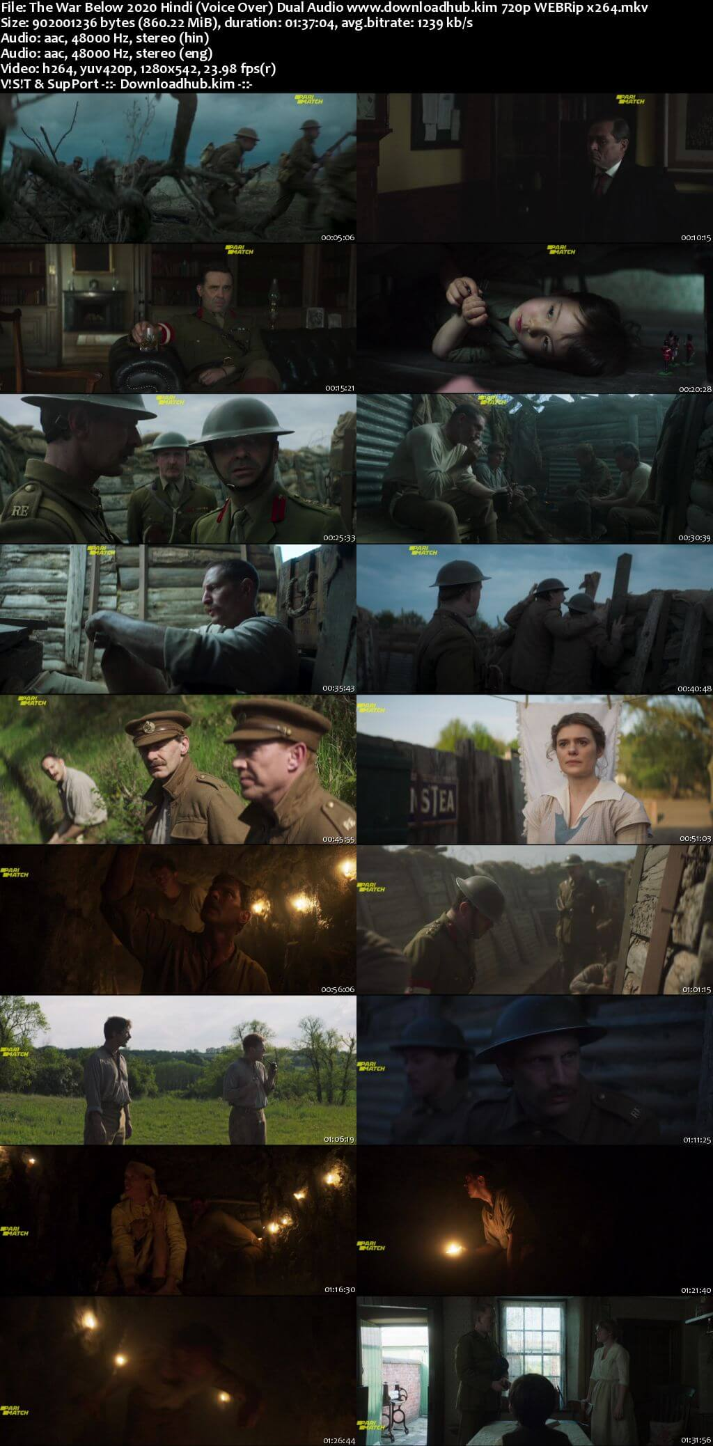 The War Below 2020 Hindi (Voice Over) Dual Audio 720p WEBRip x264