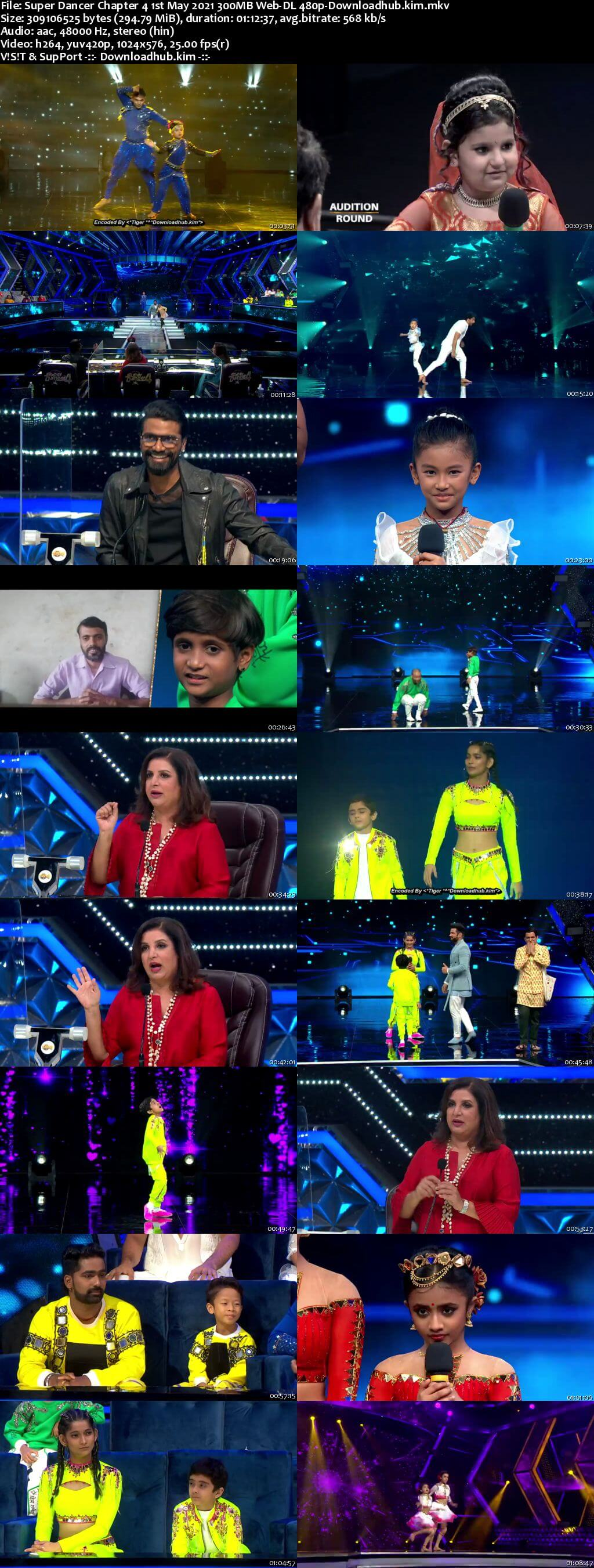 Super Dancer Chapter 4 1st May 2021 300MB Web-DL 480p