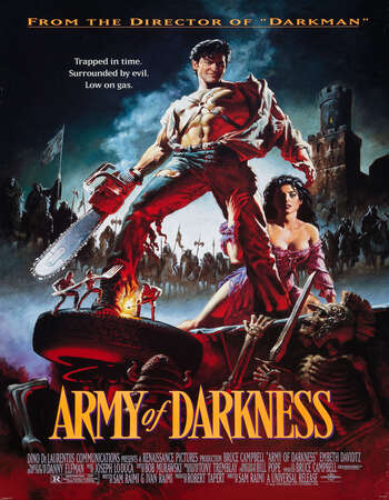 Army of Darkness 1992 Hindi Dual Audio BRRip Full Movie Download