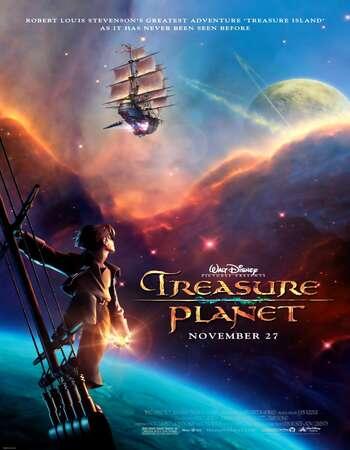 Treasure Planet 2002 Hindi Dual Audio BRRip Full Movie 480p Download