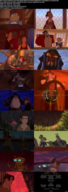 Treasure Planet 2002 Hindi Dual Audio 720p BluRay ESubs