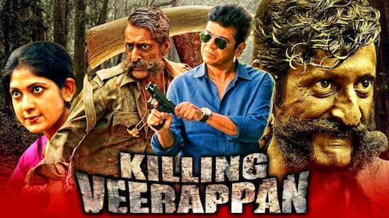 Killing Veerappan 2021 Hindi Dubbed 720p HDRip 950mb