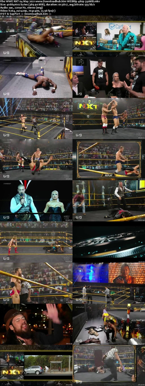 WWE NXT 4th May 2021 350MB WEBRip 480p