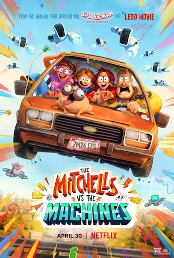 The Mitchells vs the Machines 2021 Dual Audio Hindi 480p WEB-DL 350mb