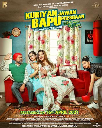 Kuriya Jawan Bapu Preshaan 2021 Punjabi 480p WEB-DL 300mb