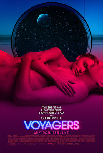 Voyagers 2021 English 480p WEB-DL 300MB ESubs