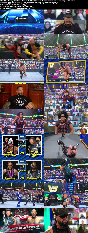WWE Friday Night Smackdown 8th May 2021 720p 300MB HDTV 480p