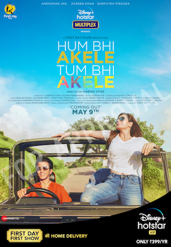 Hum Bhi Akele Tum Bhi Akele 2021 Hindi 480p WEB-DL 300MB