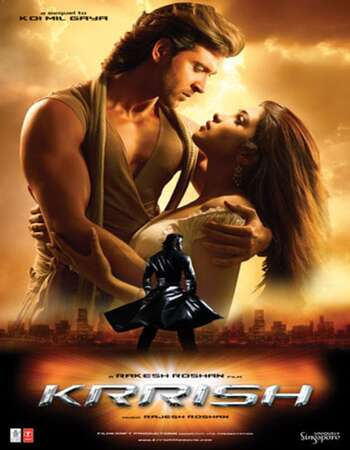 Krrish 2006 Hindi 550MB BluRay 480p