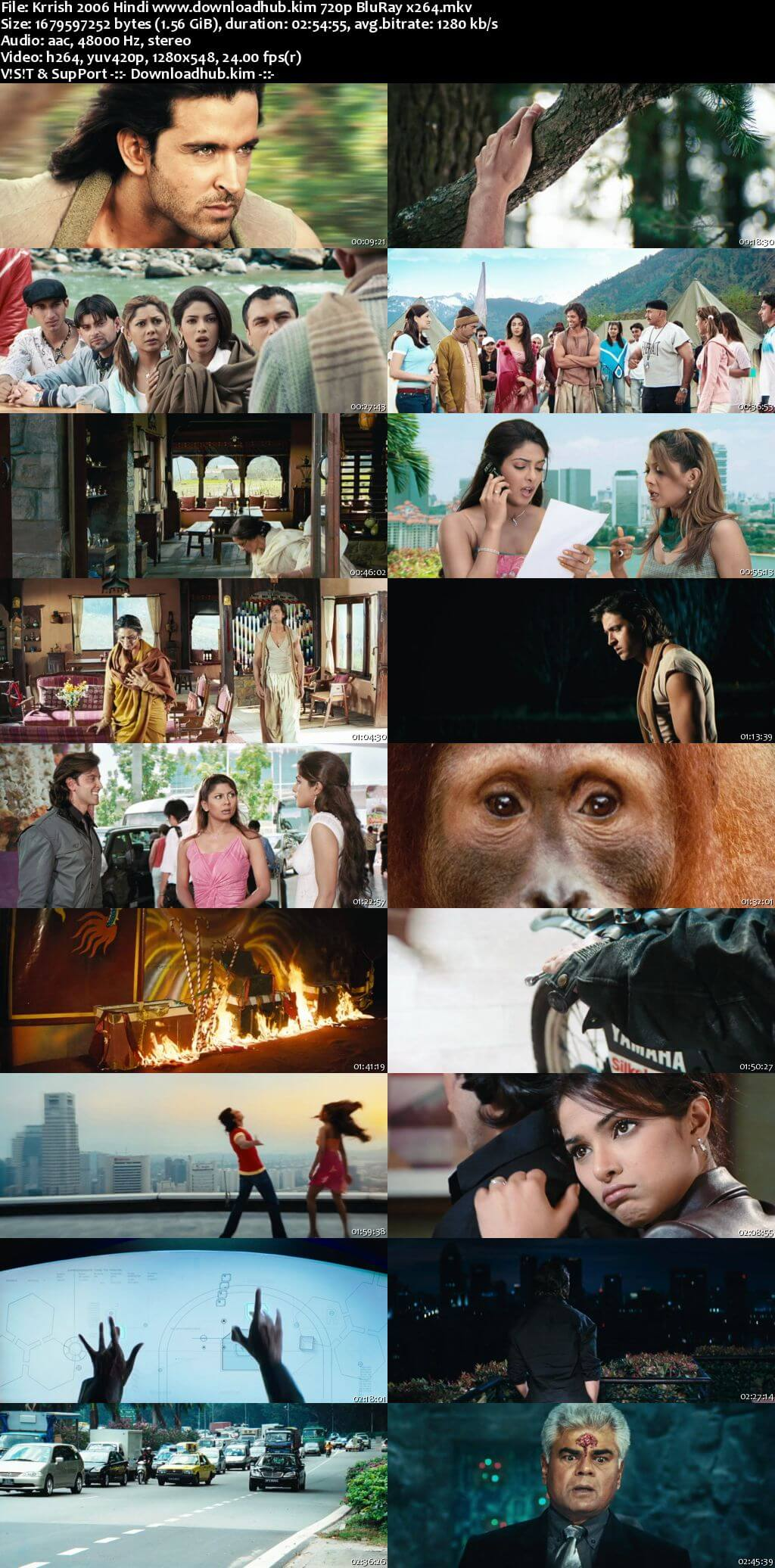 Krrish 2006 Hindi 720p BluRay x264