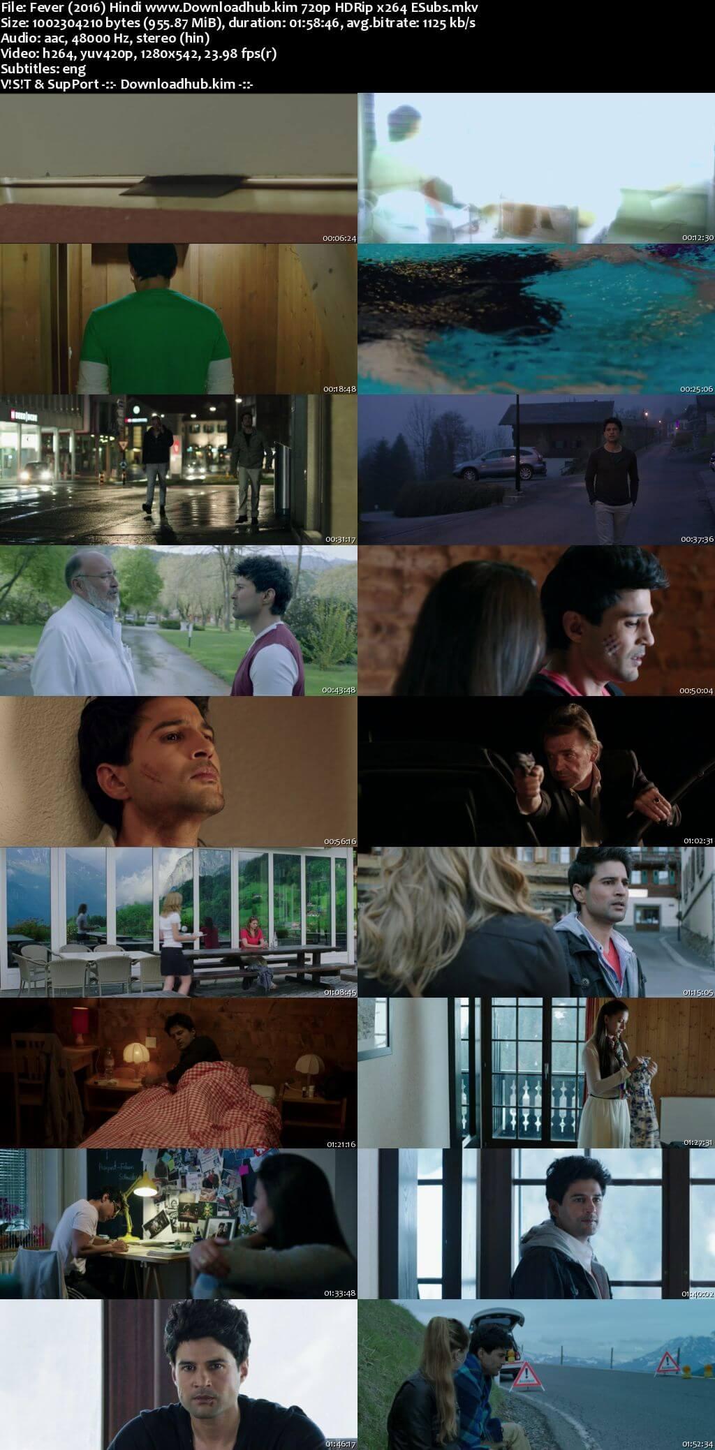Fever 2016 Hindi 720p HDRip ESubs