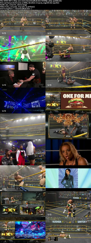 WWE NXT 11th May 2021 350MB WEBRip 480p