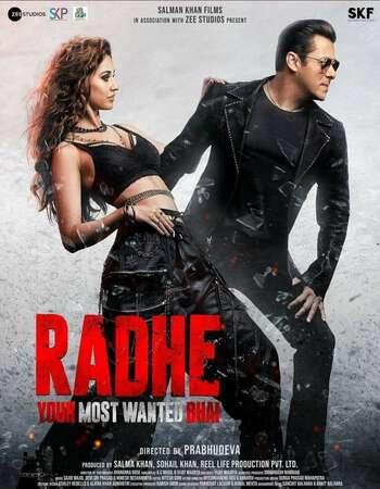 Radhe 2021 Hindi 720p HDRip ESubs