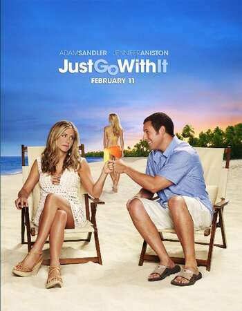 Just Go with It 2011 Hindi Dual Audio 350MB BluRay 480p ESubs